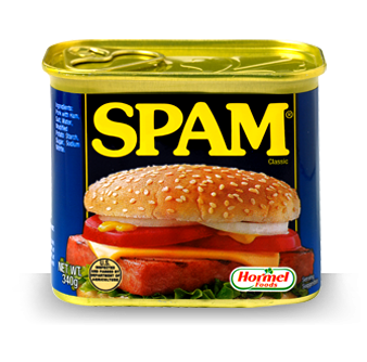 spam political websites